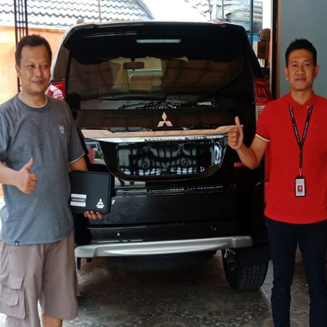 Delivery Mitsubishi pajero sport Bekasi